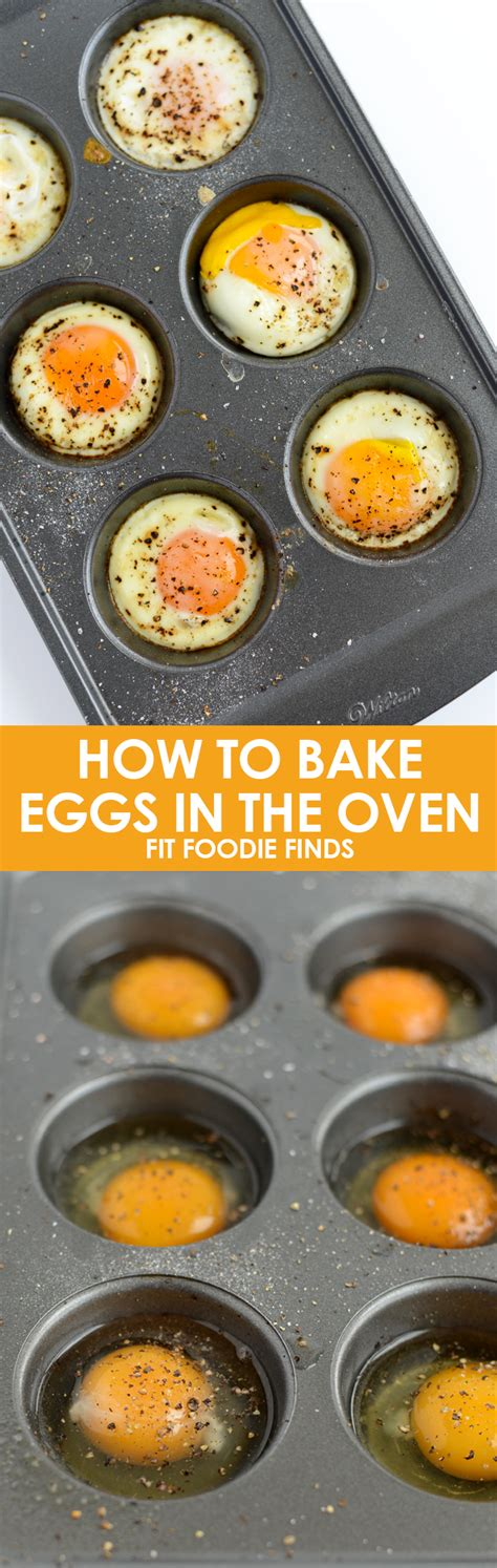 how to bake eggs in the oven fit foodie finds