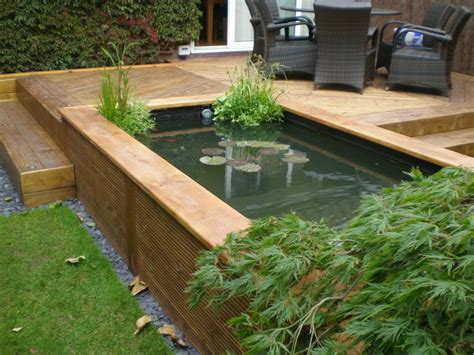 Decked Garden Ideas Related Image Aquaponics Pond Garden
