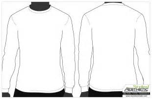 shirt template best photos of sleeve t shirt templates blank