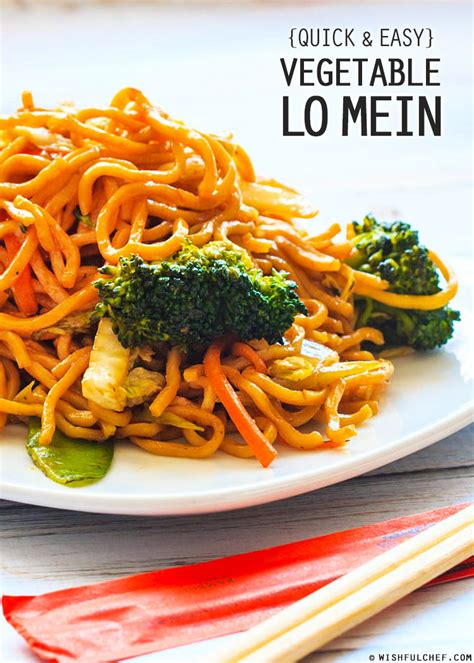vegetables lo mein 39 vegetarian weight loss recipes that are healthy and