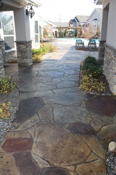 Sted Flagstone Concrete Patio by Arizona Flagstone Concrete St Www Calicoproducts