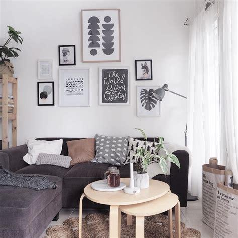 hiasan ruang tamu ala korea desain rumah minimalis