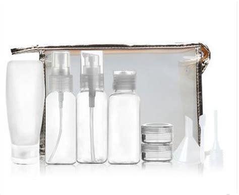 Travel Cosmetics Bottle traveling transparent cosmetics shoo smart