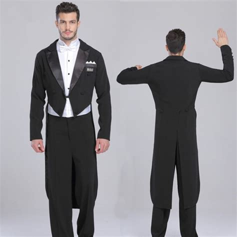 Black Set 3in1 black tuxedo blazer coat white shirts black