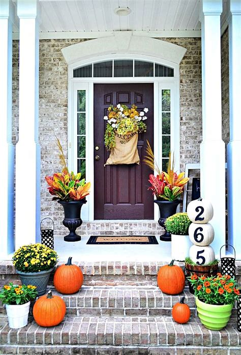 The Best Fall Decor On 27 Best Fall Porch Decorating Ideas And Designs For 2016