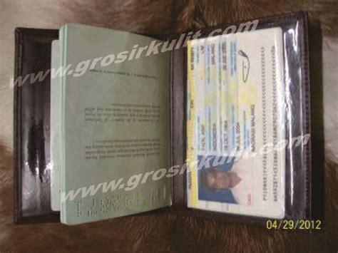 Dompet Tempat Paspor grosir kerajinan kulit dompet kulit sepatu high quality 08123363327 tsel dompet paspor tempat