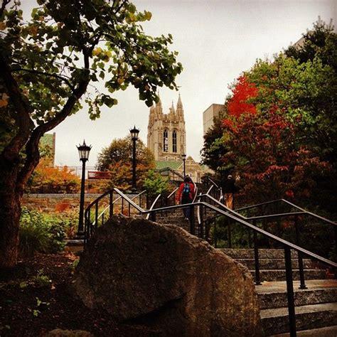 boston college colors fall colors on cus boston college cus