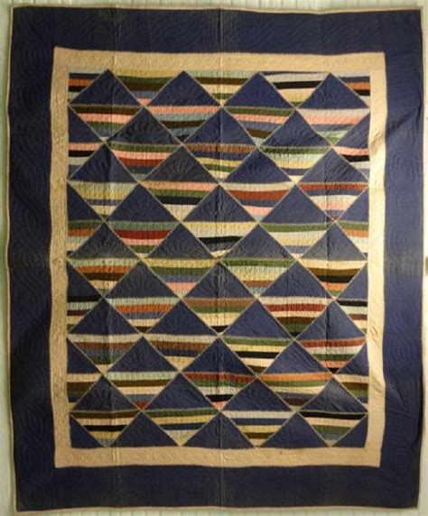 Antique Amish Quilts by Amish Stripe Antique Pieced Quilt Wool Violet