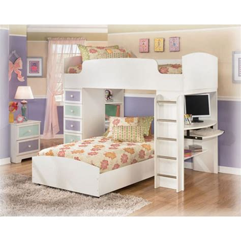 ashley furniture madeline bedroom loft bunk bed top