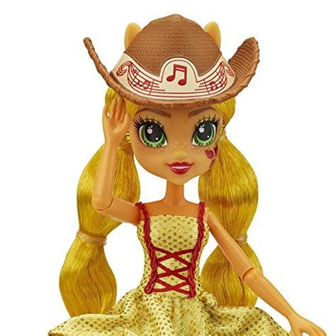 Equestria Rockin Hairstyle Dolls my pony equestria rainbow rocks applejack