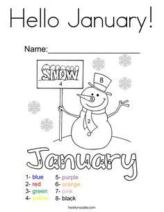january coloring pages for kindergarten hello winter coloring page twisty noodle hello and