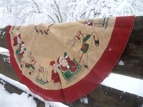 pattern burlap christmas tree skirt sale20 vintage swedish christmas tree skirt burlap