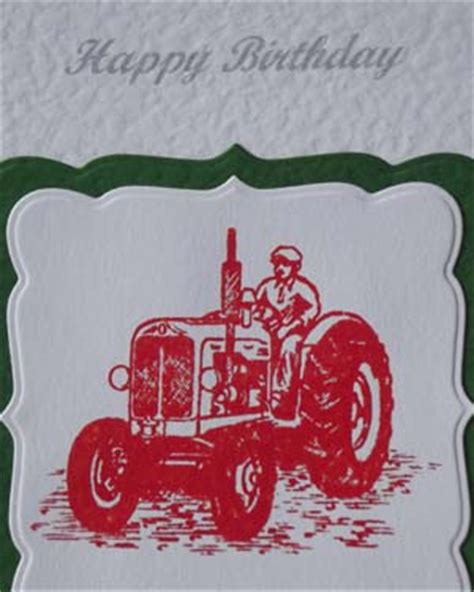 Vintage Tractor Birthday Cards vintage tractor in s birthday card jt cards