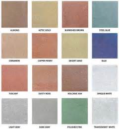stained concrete colors 25 best ideas about concrete stain colors on