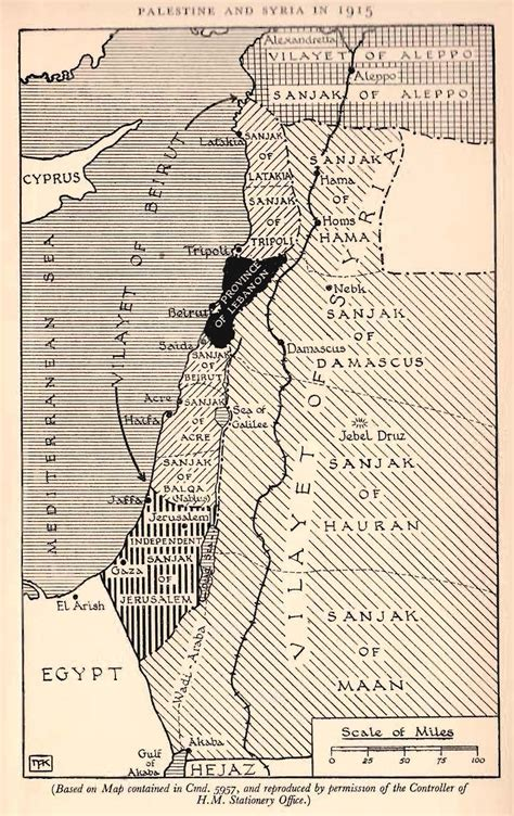 Ottoman Empire And Palestine by 1916 The Ottoman Empire And Palestine I E There Is No