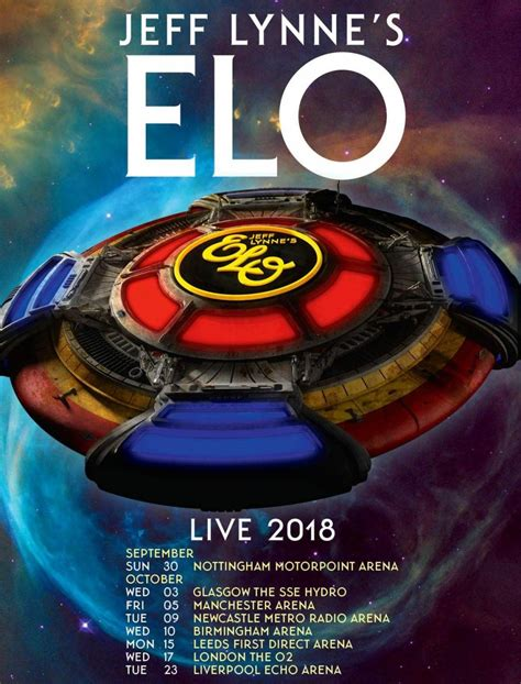 electric light orchestra tour electric light orchestra announce uk 2018 tour and