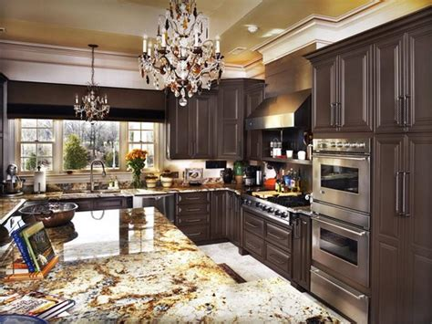 kitchen with brown cabinets brown painted kitchen cabinets your dream home