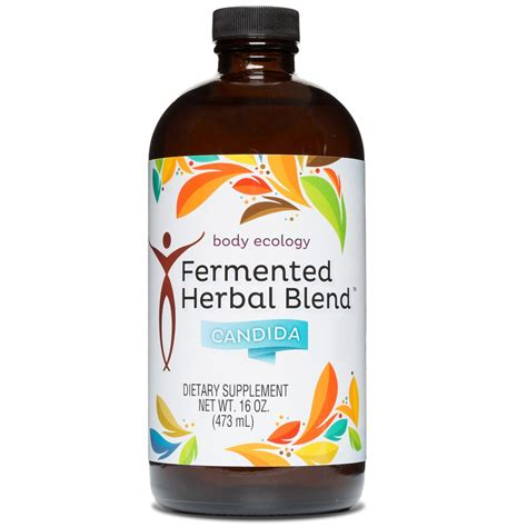 Candida Cleanse Detox Drink by Fermented Herbal Blend Candida The Naturopathic