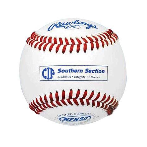 cif southern section baseball playoffs rawlings cifss baseball 1 dozen