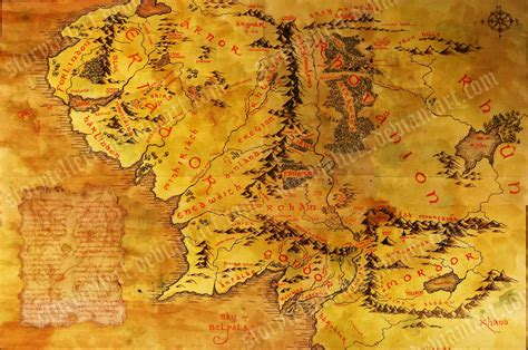 middle earth map map of middle earth wallpapers wallpaper cave