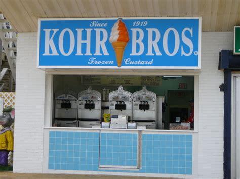 kohr bros rehoboth beach restaurant reviews