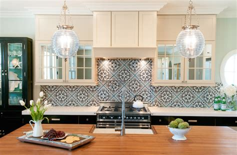Moroccan Kitchen Tiles Transitional Kitchen Brittney Moroccan Kitchen Design