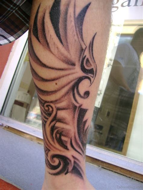 celtic crow tattoo 52 cool celtic tattoos design on leg