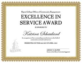 Customer Service Certificate Template by Service Award Certificate Templates Service Award