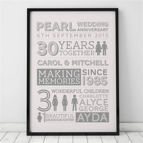 silver wedding anniversary gifts argos gift ideas for 30th wedding anniversary for couples gift
