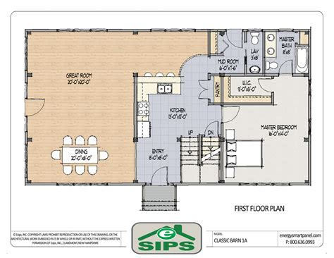 open great room floor plans barn house open floor plans exle of open concept barn