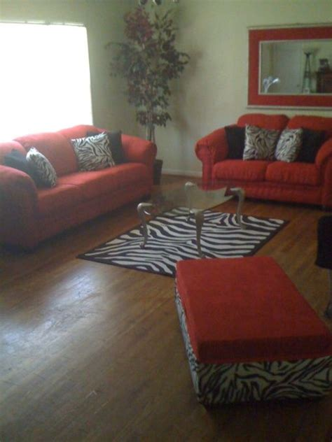 zebra print living room red hot living room with zebra print accents this is