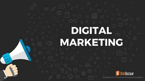 Presentation Agenda Slidebazaar Digital Marketing Ppt Template