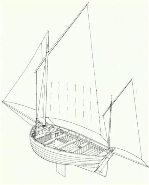 dessin bateau perspective vue perspective d un flobart bateau de p 234 che de la cote d
