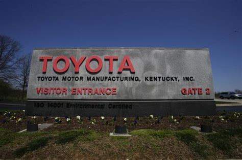 Toyota Ky Cars Names Toyota Camry As Most American Made Again