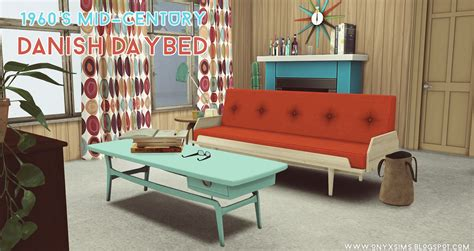 Dining Room Sofa Seating 1960 s danish mid century daybed by onyx teh sims