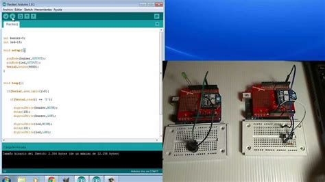 arduino xbee tutorial youtube comunicaciones t03com timbre inal 225 mbrico xbee serie 1