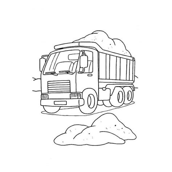Dessin Camion Laitll