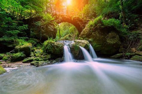 magnificent switzerland waterfalls    visit