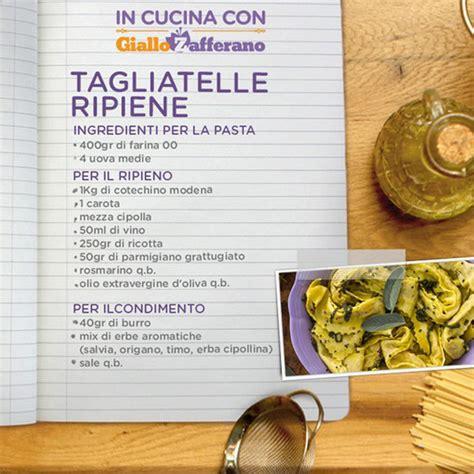 di cucina giallo zafferano in cucina con giallo zafferano tagliatelle ripiene 140699