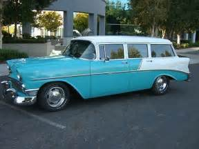 Chevrolet Belair Station Wagon Find Used 1956 Chevy Bel Air Station Wagon 4 Door Post