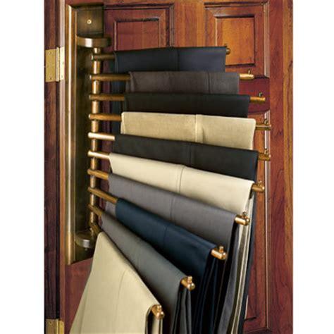 Pant Rack Closet by The Genuine Mahogany Closet Organizing Rack