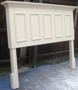 king size headboard made from an door hometalk