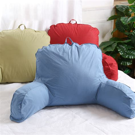 v shaped back support pillow pillows bed chair aliexpress com buy large cotton bed reading rest