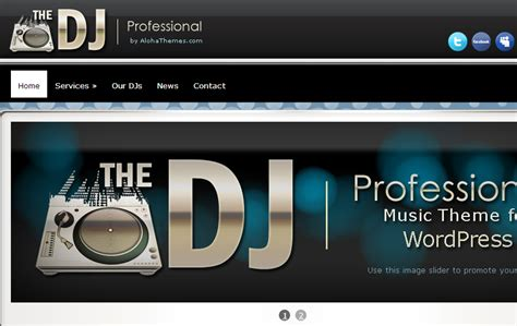 dj templates top 45 wedding dj themes best 45
