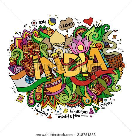 doodle 3 india india lettering and doodles elements background