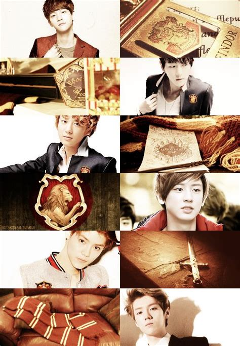 film terbaru luhan ex exo movie book edit harry potter gryffindor exo baekhyun