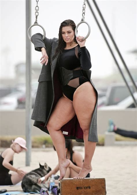 sex swing for plus size plus size beauty ashley graham showcases her killer curves
