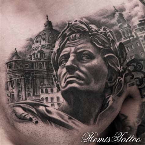 julius caesar tattoo remis cizauskas certified artist