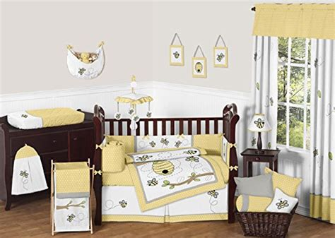 sweet jojo designs bedding sets honey bumble bee hive