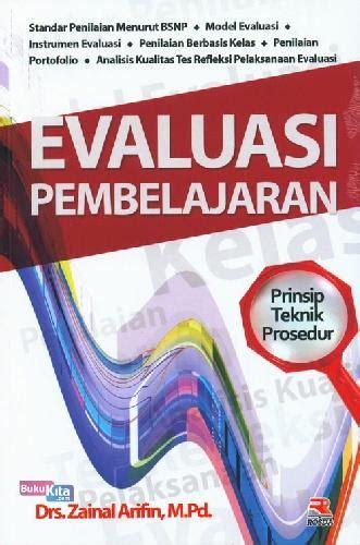 Buku Evaluasi Pembelajaran By Zaenal Arifin bukukita evaluasi pembelajaran toko buku